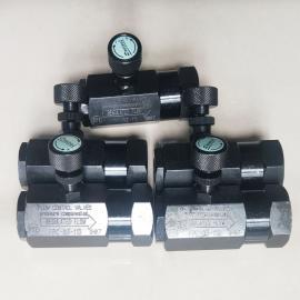 盘龙DTL压力补偿型节流阀阀 FPC-03-11D FPC-04-11D FPC-06-11D