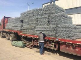 利东生产加工格宾网石头笼子定制丝经孔径