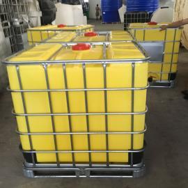 食品级1000L塑料吨桶集装箱运输专用Ibc吨桶阀门配件可定制