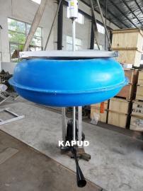 河道污水�理浮筒式��水射流曝��C QSB型推流曝��C