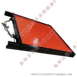 双向止水平板闸门 带3T手摇启闭机3.2m螺杆