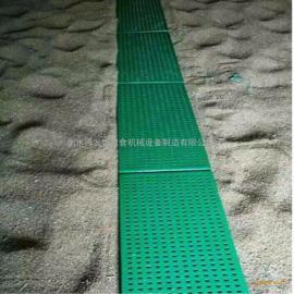 供应中央储备库专用塑料镂空粮面板 透气粮食走道板 踏粮板