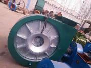 输送高温生物质气煤气风机