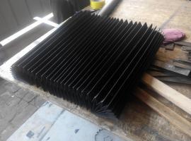雕刻机专用风琴防尘护罩,雕刻机导轨防尘风琴式护罩