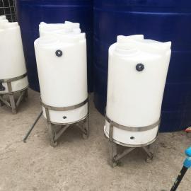 锥底加药箱100L食品级锥底搅拌桶圆形加药桶厂家直销