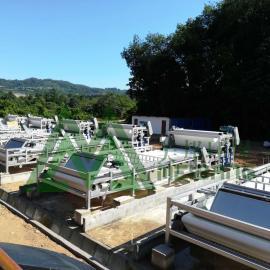 洗沙泥浆脱水机 洗沙泥浆压干机 洗沙泥浆干堆机