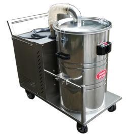 昆山机械厂用吸颗粒焊渣铁屑用大型吸尘器配合机器用吸尘器