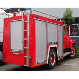 3-5方泡沫消防车---东风多利卡4吨泡沫消防车