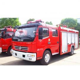 6-8方泡沫消防车---重汽6吨泡沫消防车