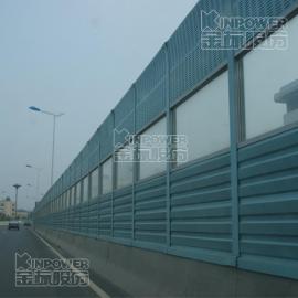金属隔音墙做成百叶孔型隔音墙效果好