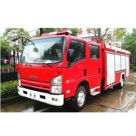 10-12方泡沫消防车---豪沃双桥泡沫消防车(11吨)