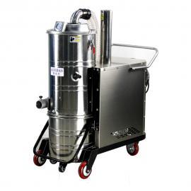 丹阳制造车间吸铁屑吸粉尘用大功率工业吸尘器