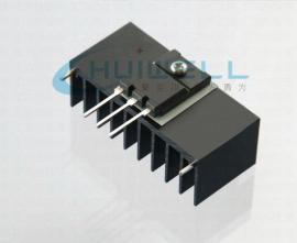 研发定制新能源汽车控制器电源模块导热绝缘片高K值低热阻垫片