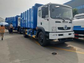 东风压缩站对接式垃圾车 垃圾转运车制造厂
