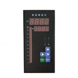 智能数显电流表HB404T-A 变比可调继电器输出 双路报警变送输出