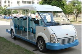 高校后勤服务电动车 游览度假村旅游观光车 公园景区电动观光车