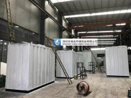 15吨垃圾中转站渗滤液处理设备YAZZ-10T三级排放标准渗滤液