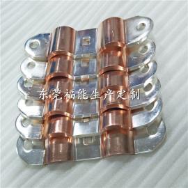 优质充气柜铜箔软连接-铜箔导电带福能厂家生产