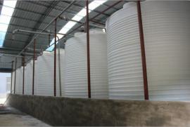 15吨养殖场塑料桶15吨农场储水塔15立方养殖储水箱厂家