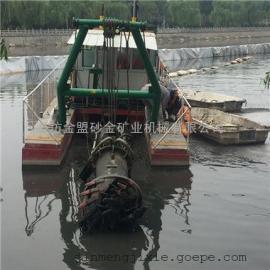 环保挖泥船 客户定制大规模绞吸式挖泥船佩戴的脱水设备