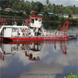 厂家出售清淤船 8寸泵河道绞吸式清淤船疏浚一方成本