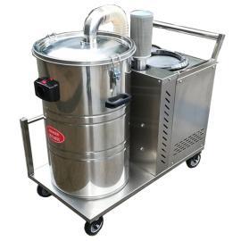 3000W工业厂房用吸颗粒铁屑铁渣用吸尘器打磨车间用吸尘器