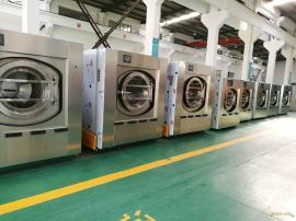 海鑫XGQ-100F不锈钢全自动工业洗衣机厂家