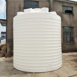 厂家供应20吨水处理工程专用高位水箱化工pe塑料水塔工业塑料桶
