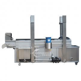 供应厂家直销洗刷刷XSS-3000食品油炸流水线 面食油炸流水线麻花