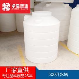 塑料水塔 大水箱2吨 储水桶 储罐带盖 塑胶化工桶 圆桶 厂家