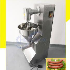 304不锈钢全自动灌肠机 小型自动香肠灌肠机