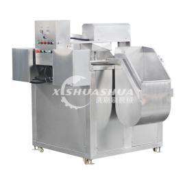 供应厂家直销洗刷刷XSS-1000全自动鱼豆腐油炸流水线 豆泡油炸机