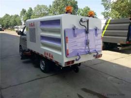 1吨长安小型扫路车 多功能路面洒水扫路车