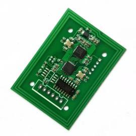 RFID读卡模块14443A协议RS232接口M1卡读头模块