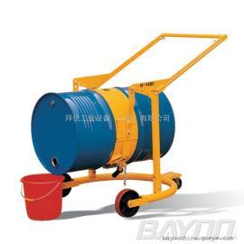 BAYOO液压油桶搬运车 油桶夹 油桶吊