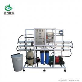 小型民用海水淡化设备 反渗透法高效除盐装置 运行成本低