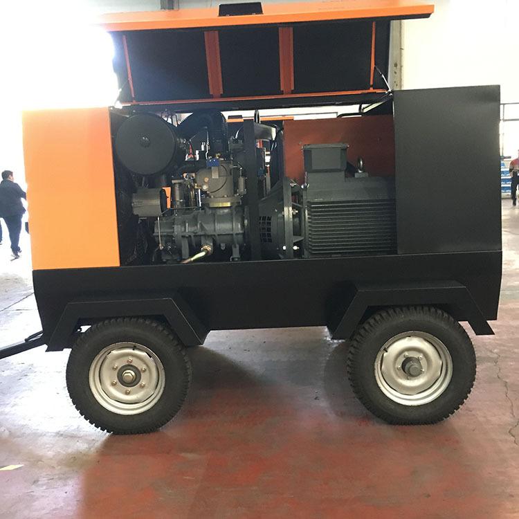 开山空压机电动KSDY16.5/8移动螺杆式90千瓦地下施工螺杆机