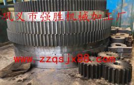 直径2X20米污泥烘干机大齿轮快速定做 铸钢污泥烘干机大齿轮厂家