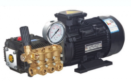 电机连泵、高压柱塞泵、简易人造雾主机,造雾造景加湿降尘