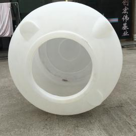 1吨滚塑水箱1000LPE塑料带盖水塔储水罐水箱大水桶生产厂家