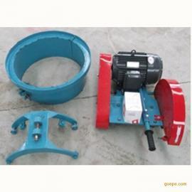 400型卡箍切桩机 水泥柱子切断机 电动切桩机切混凝土桩的设备