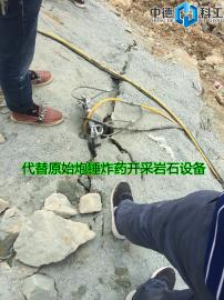 地基开挖矿山岩石劈裂机