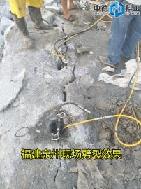 层积岩破损设备决裂棒