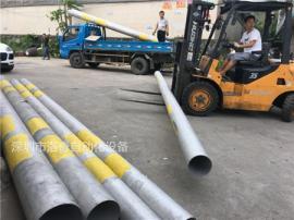 316不锈钢管抛丸加工 大型不锈钢管加工
