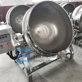 大型厨房蒸煮锅 电加热煮猪头肉鸡鸭扇贝海鲜熟食夹层锅 卤肉锅
