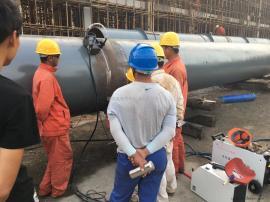 户外供水管道焊机 暖电安装焊管机 自动焊机 焊接机