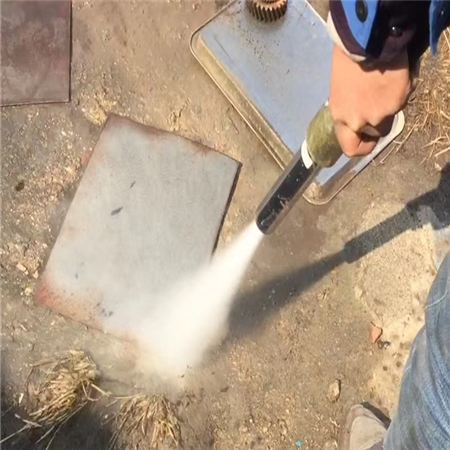 无尘水砂混合喷砂机