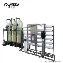 酿造饮料食品用纯水设备 工业除盐用全自动RO反渗透一体机