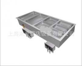 Hatco HWBI-5M 五联嵌入式保温汤池(带去水)、HWBI-5M 保温汤池