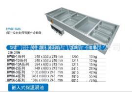 Hatco HWBI-2DA 双联嵌入式保温汤池(带去水/自动上水)